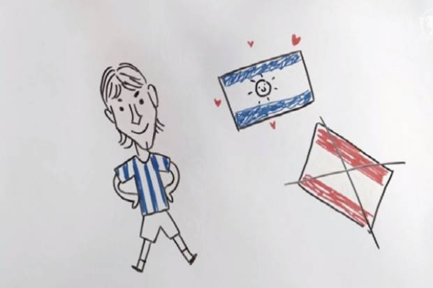 VIDEO: La vida de Lionel Messi, recreada en dibujos animados