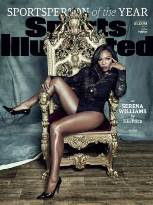 Serena Williams, la deportista del año para Sport Illustrated