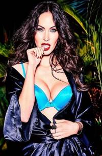 FOTOS: Megan Fox presume lencería estilo dominatrix