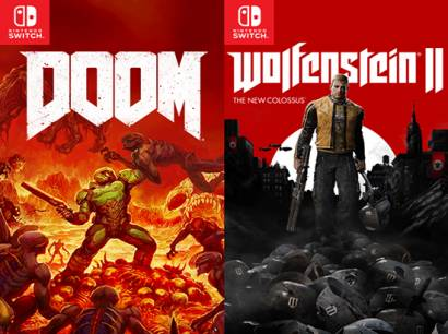 DOOM PS4 vs Nintendo Switch — Comparativa gráfica