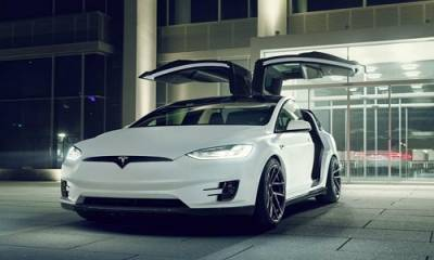 Tesla Model X, modificado por Novitec
