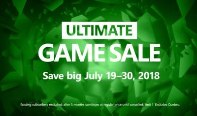 Éstas son las ofertas de la Ultimate Game Sale de Xbox