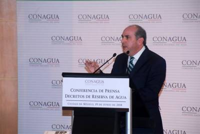 Director de Conagua revira: Es falsa la privatización del agua
