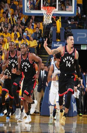 NBA Finals: Toronto 123-109 Warriors; los raptors van por el título
