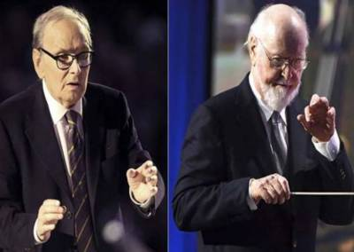 John Williams y Ennio Morricone, los insustituibles