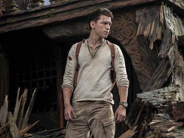 Así se ve Tom Holland como Nathan Drake en la película de Uncharted