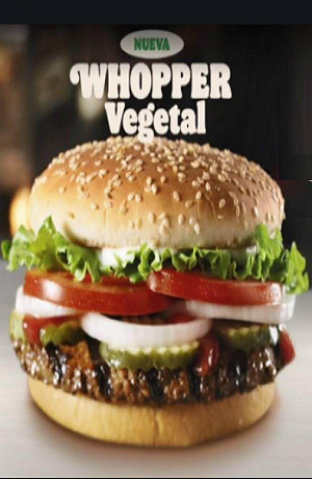 Burger King lanza Whopper Vegetal en México
