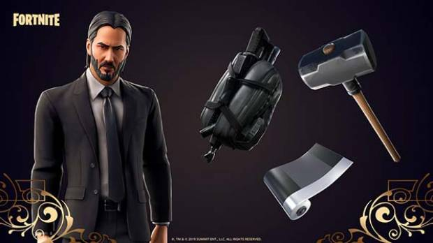 Confirman el modo de John Wick en Fortnite
