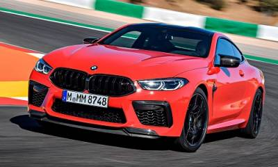 BMW M8 Coupé y Grand Coupé Competition 2021